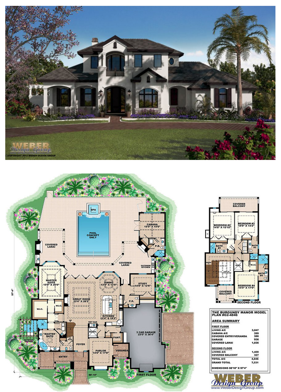 Country House Plan French Country Home Plan With Mediterranean Style Mediterranean House Plans Contemporary House Plans Rustic House Plans
