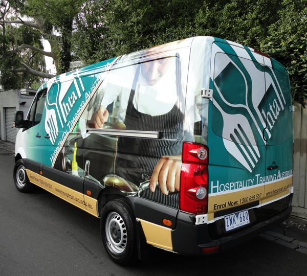 VW Crafter Vehicle Wrap, Van Advertising, Van Vehicle Wrap