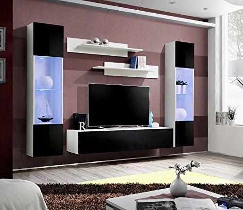 BMF Fly A1 Modern Hochglanz Wohnzimmer\/Schlafzimmer\/Studio flach - möbel wohnzimmer modern