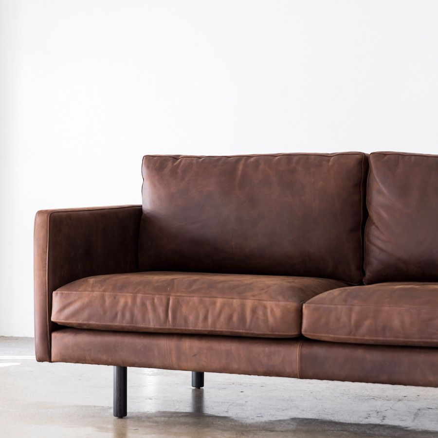 sofa maker 1920 table jonah in black matt leather from our collection classicdesign mancave leathersofa leatherlounge australiandesign australianmade brownsofa