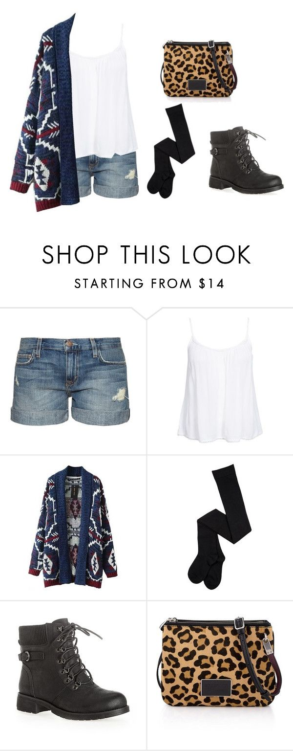 """""""Sin título #53"""" by luz-715 ❤ liked on Polyvore featuring Current/Elliott, New Look, Avenue, Marc by Marc Jacobs, women's clothing, women's fashion, women, female, woman and misses"""