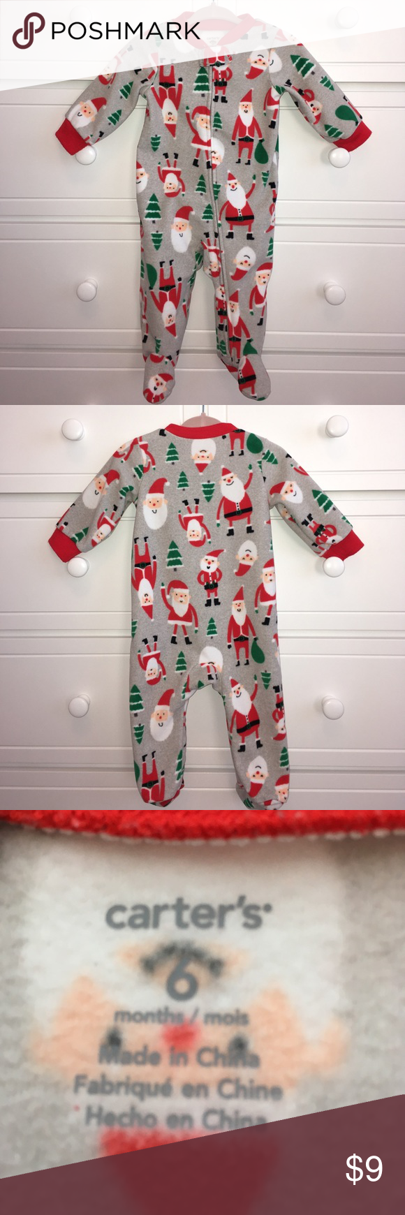 9cea996b12f8 🎄Carter s Christmas PJs🎄 Used - excellent condition. Carter s ...