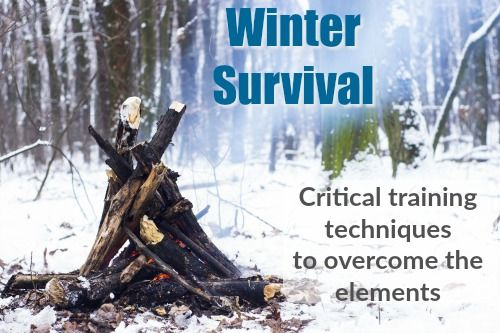 Winter Survival: Critical Training Techniques to Overcome the Elements #wintersurvivalsupplies