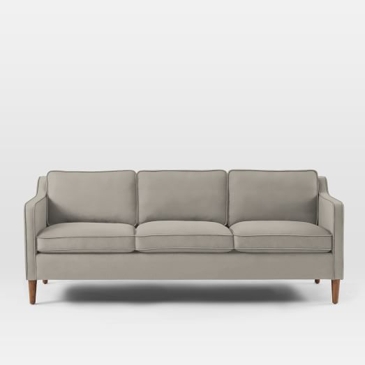 Inspired by furniture silhouettes our Hamilton Sofa is an instant classic It s perched on solid poplar wood legs and covered in your choice of fabric Fresh - Elegant 1950s sofa Bed Trending