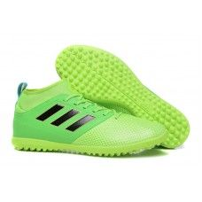 online store 524aa 8ad91 Adidas ACE 17-3 PRIMEMESH TF Botas de futbol Verde Negro