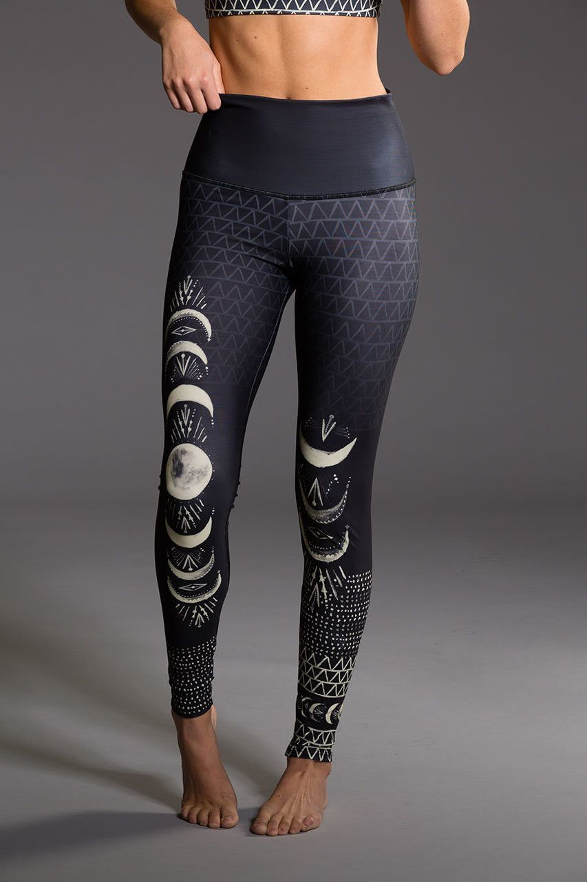 ONZIE High Rise Graphic Legging Las