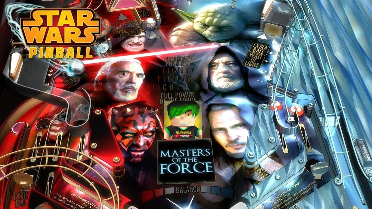Pinball Arcade Star Wars Masters of the Force