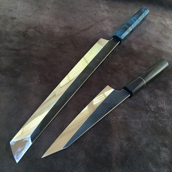 Katana Kitchen Knife Sets On Sale Oatley Knives Things I Want Making Swords Custom