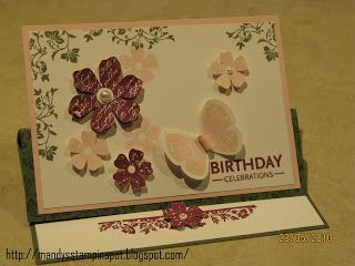 Mandy's Stampin Spot: Stampin Up - Vintage Vogue and Butterfly Prints