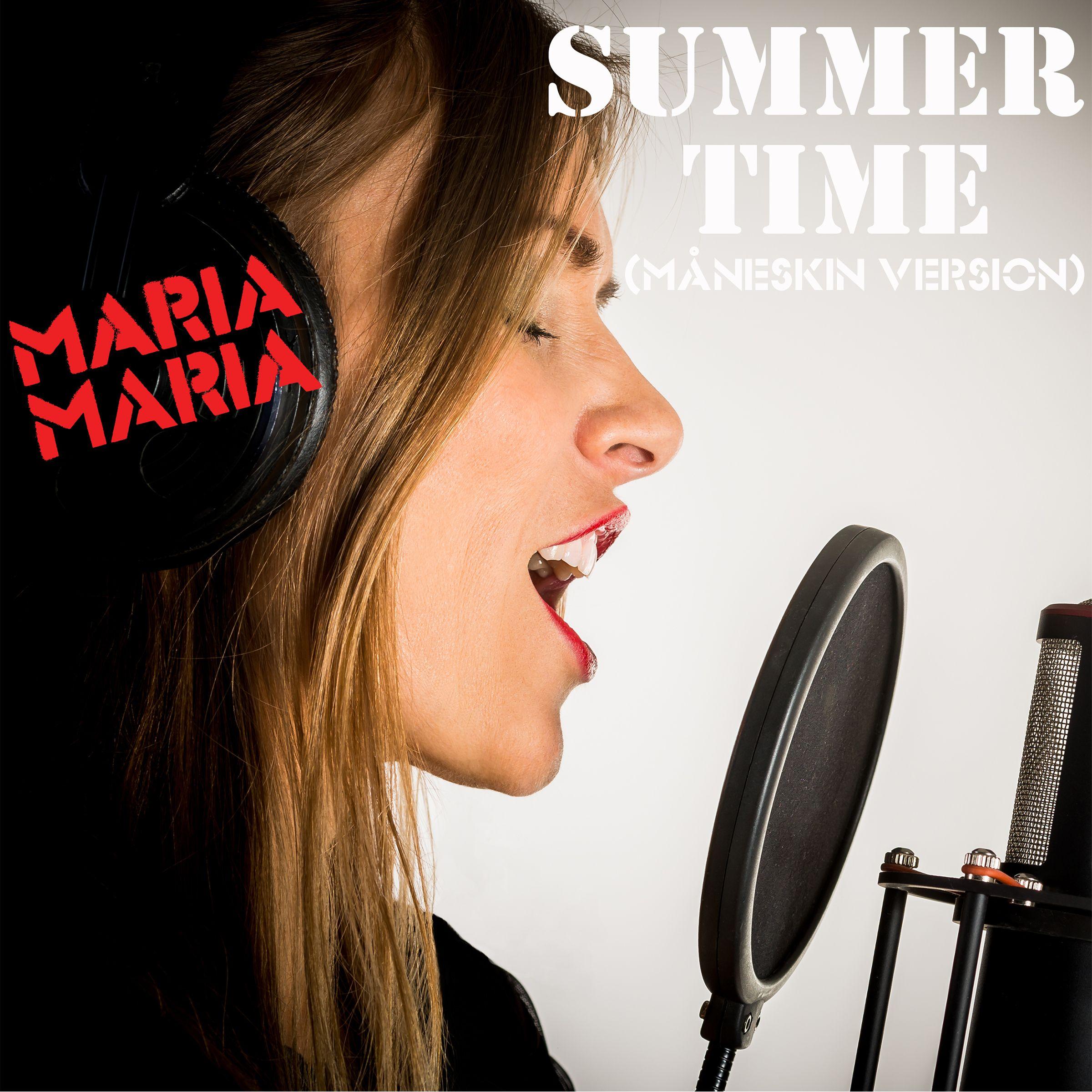 """SINGLERELEASE 25/6 :  """"SUMMERTIME (Måneskin Version)"""" m MARIA MARIA FIND SANGEN HER: https://itunes.apple.com/.../summertime.../id1011757048 Spotify: https://play.spotify.com/album/0xIox10YqDVfxcyjAshgXZ #music #summerhit #summertime #radio #hit"""