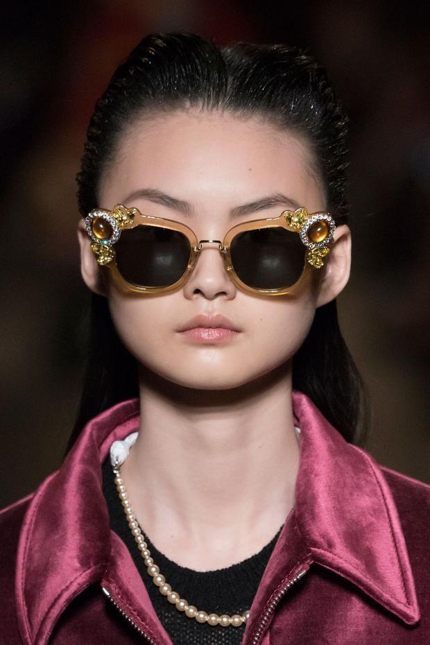 Miu Miu Fall 2016 Beauty #sunglasses