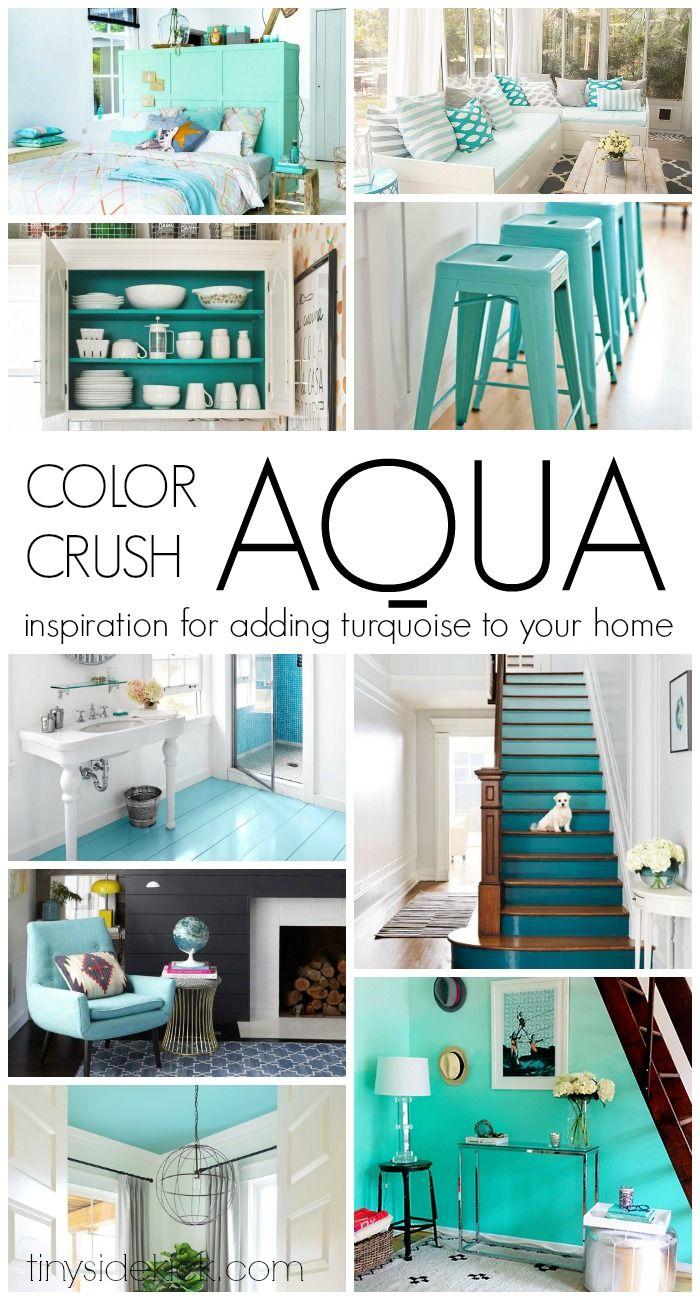Unique Aqua Decor and Design