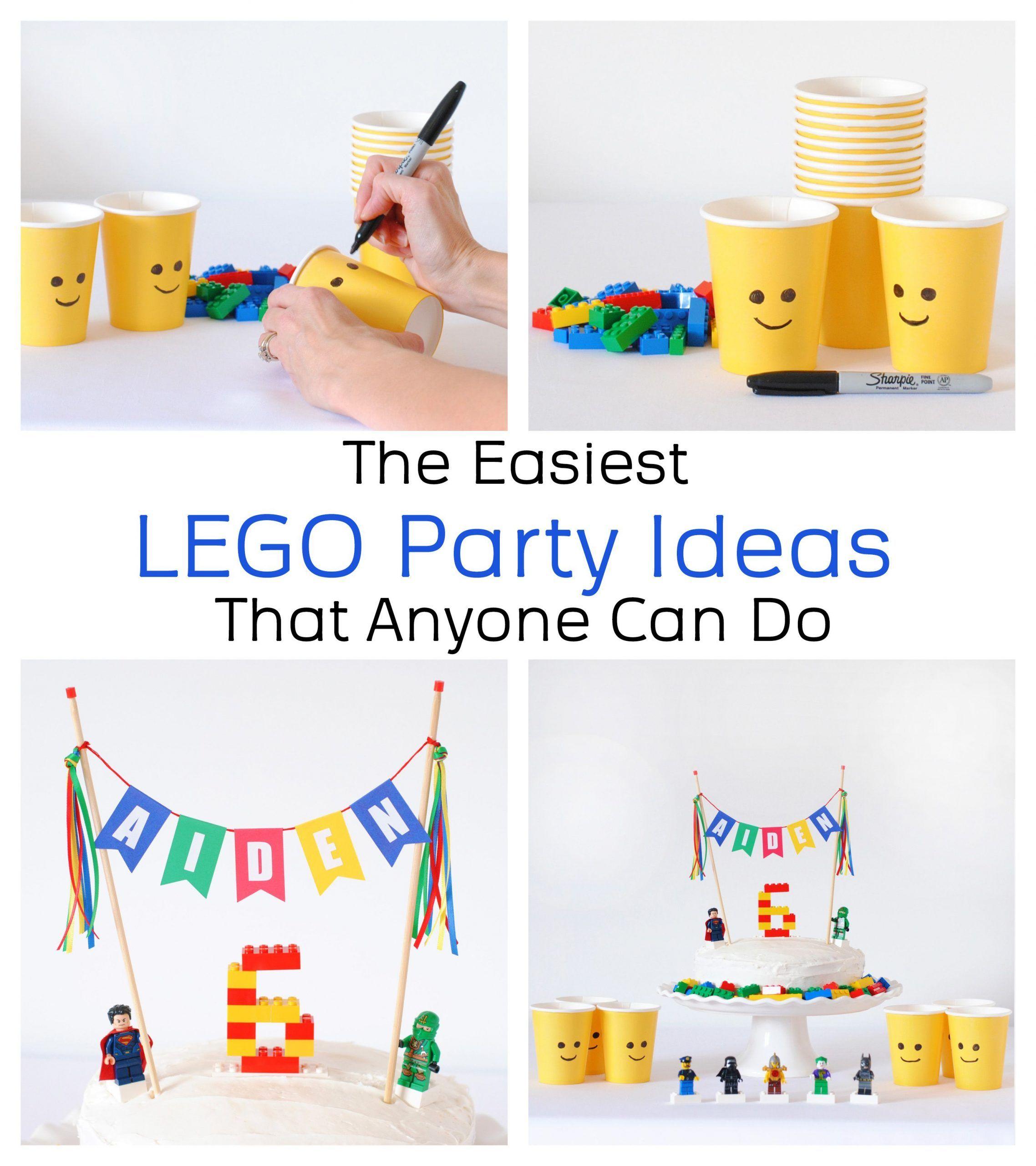 LegoGeburtstagsfeierIdeen in 2020 Geburtstagsfeier