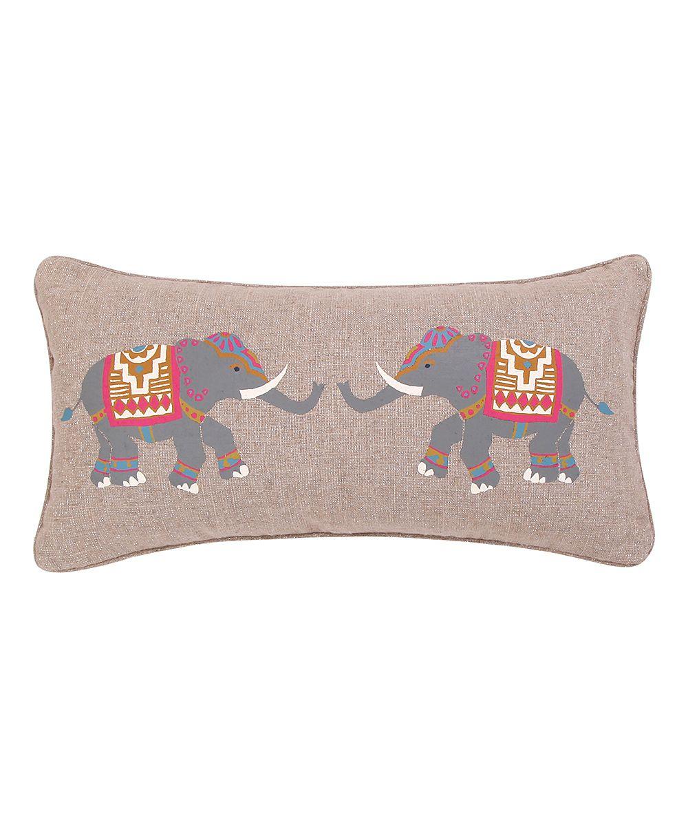 Tan tangier elephant pillow elephant pillow tangier and pillows