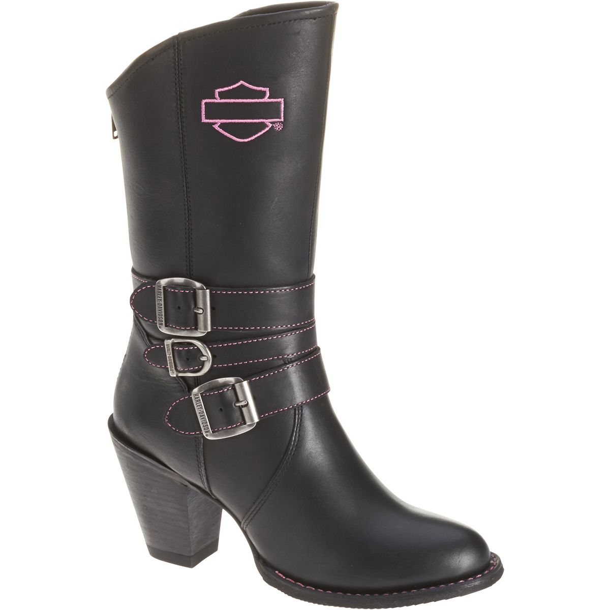 392455c6d21 Maddison women's riding boots from Harley-Davidson Footwear. Pink ...
