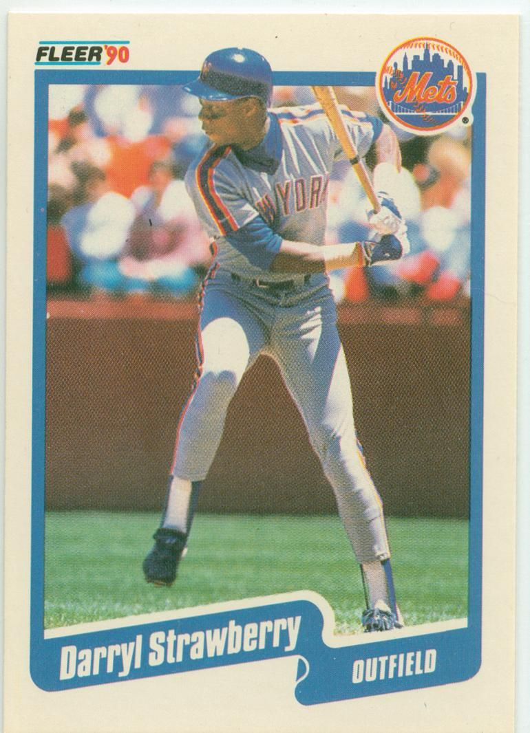 Reader Daniel Helps Me With My Darryl Strawberry Collection With Images Darryl Strawberry Baseball Cards Mets Baseball