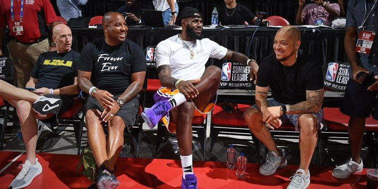 What Lebron James' salary says about the value of labor in