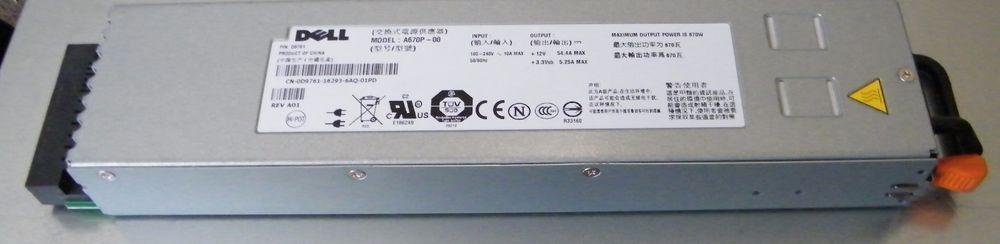 Dell PowerEdge 1950 Server PSU D9761 Power Supply 670w A670P-00 Free