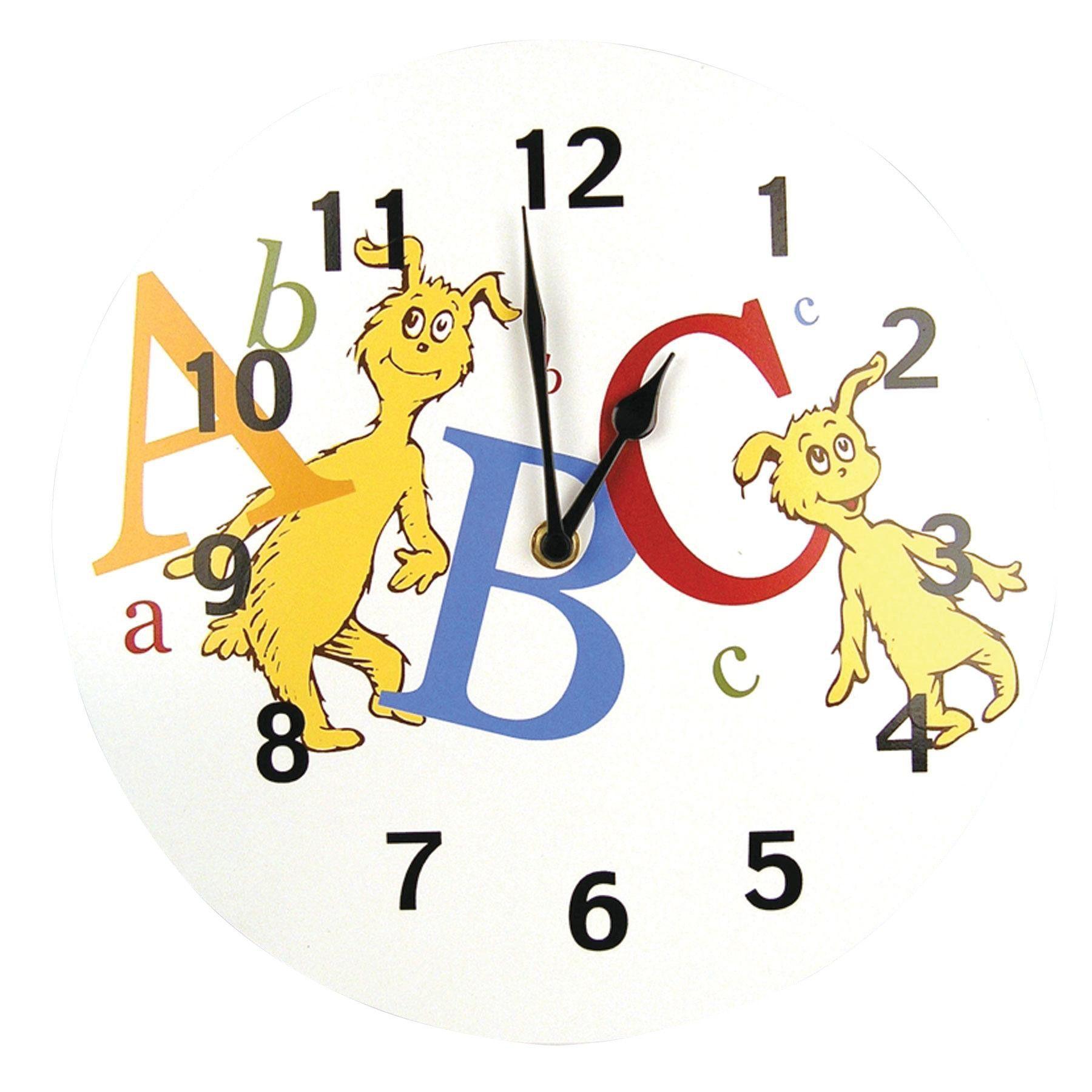 Dr Seuss Abc Clock