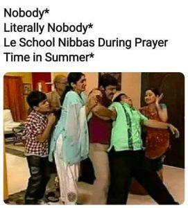 School Prayers During Summer