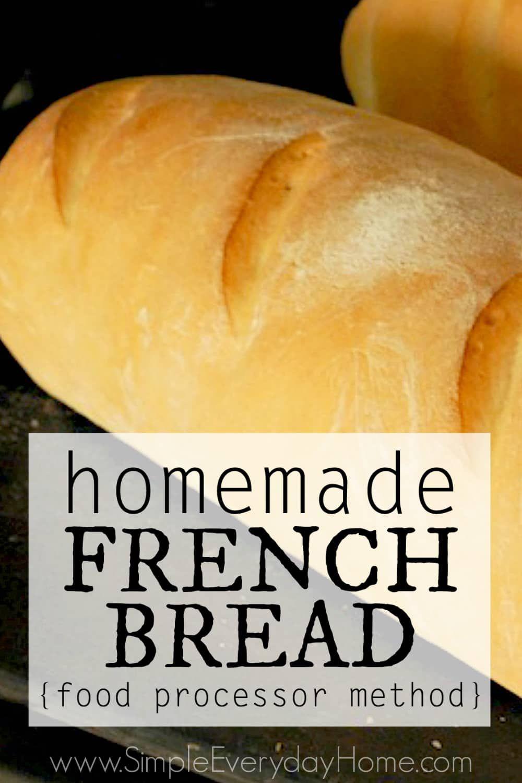 French bread food processor method recipe homemade french french bread food processor method forumfinder Gallery