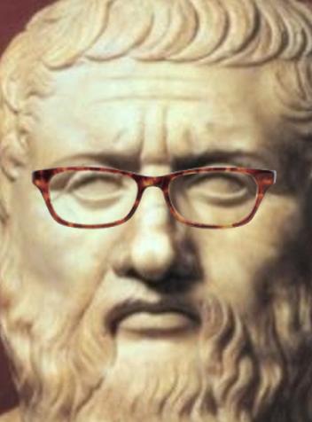 Image result for plato glasses