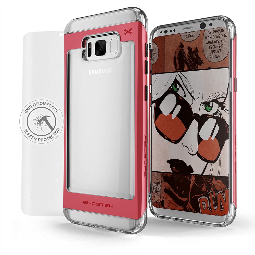 Pin On Galaxy S8 Plus Case Ghostek Cloak 2 0 Series Explosion Proof Screen Protector