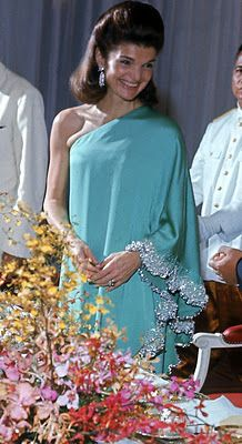 Jackie...Her Glamour, Grace & Sense of Gratitude Did Much For Foreign Relations Across the Globe For The USA Under Her Husband's Short 1,000 Days In Office....God Bless Her...And JFK...