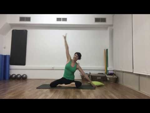 PILATES SUELO 30 MINUTOS - YouTube