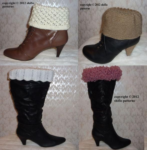 Boot Toppers Knitting Pattern 205 Boot Toppers Knit Patterns And