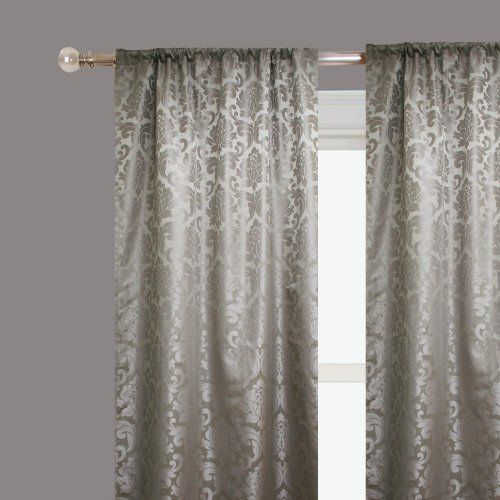 Rodeo Home Alyssa Two Panel Drapery 54 X96 In Silver By Rodeo Home Http Www Gp Product B004001yva Ref Cm Sw R Pi Alp Xsi9q Home Decor Home Decor
