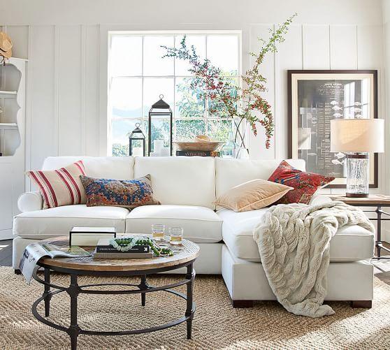 Lovely Pottery Barn Living Room Images
