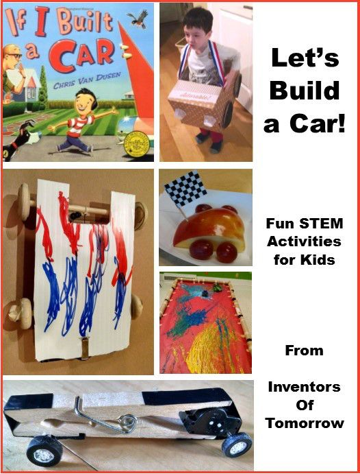 Car Themed Stem And Art Activities For Kids Preschool To Elementary Learn More Fun Stem Activities Science Activities For Kids Transportation Theme Preschool Preschool transportation theme science