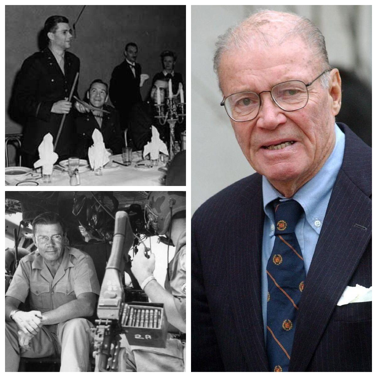 Robert McNamara-Air Force-WW2-1943-46-Lt. Colonel- Legion of Merit (8th US Secretary of Defense 1961-68-World Bank Group President)