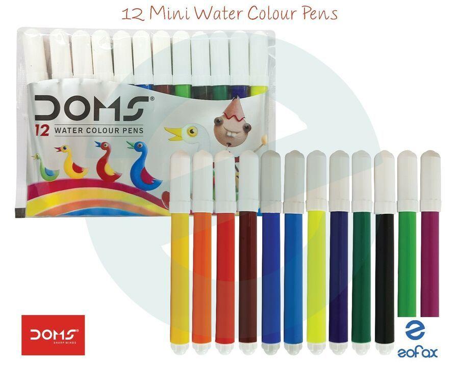Details About Doms 24 Colour Pencils 24 Colour Pencils For Art And