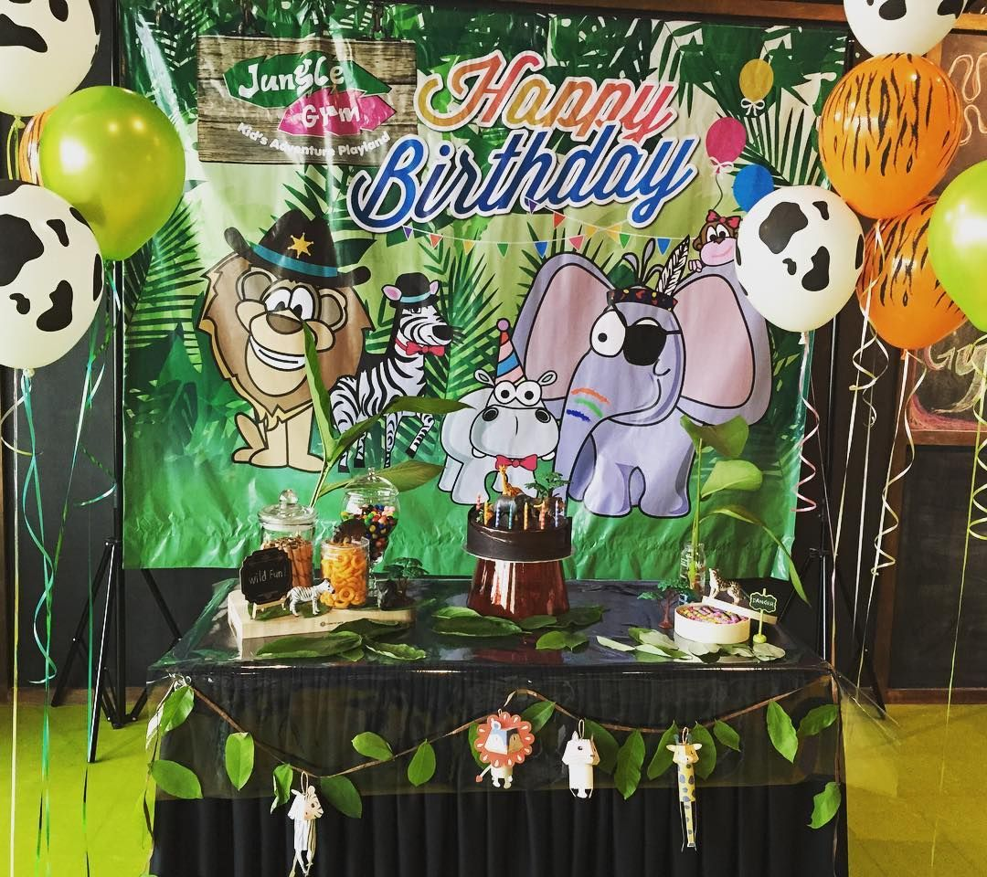#wildlife #wild #kidsdecor #kidsparty #party #partydecor #fun #birthday #birthdays #cake #diy #events #happy #jungle by partyprete