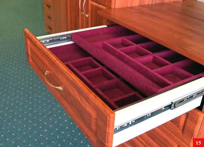 Jewelry Storage Drawer Insert Now this is more like it A custom