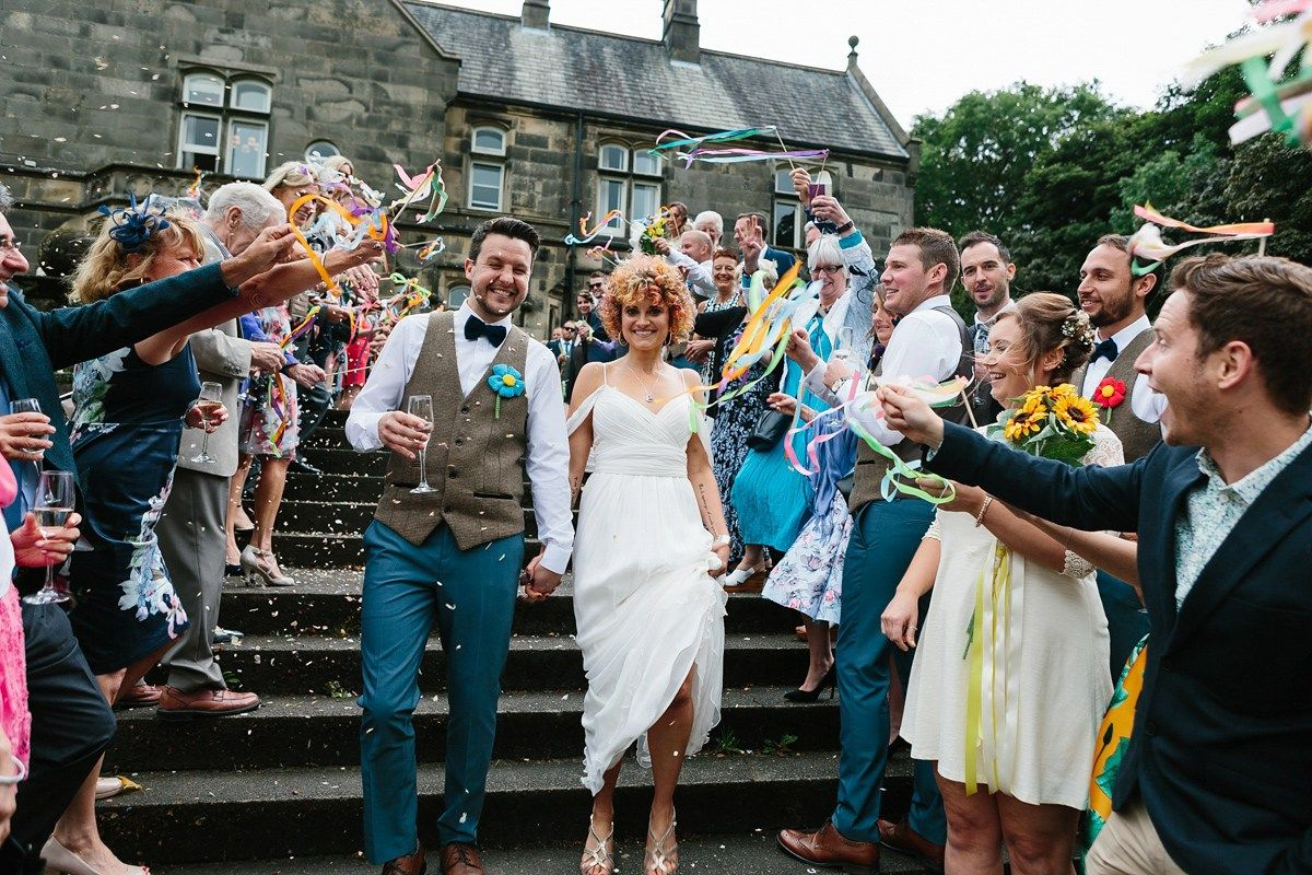 Mexican style wedding dress  An Anna Campbell Dress For A Colourful and Kitsch Mexican Inspired