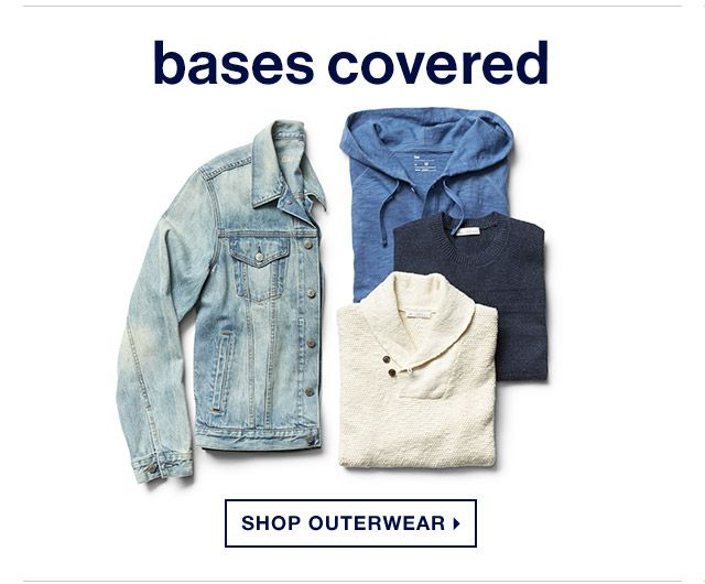 bases covered | SHOP OUTERWEAR