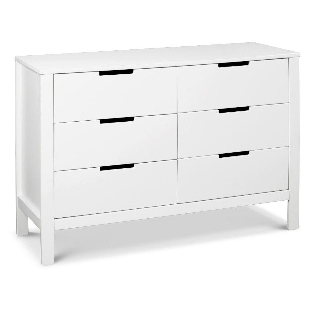 Carter S By Davinci Colby 6 Drawer Dresser White Double Dresser Dresser Drawers 6 Drawer Dresser [ 1000 x 1000 Pixel ]