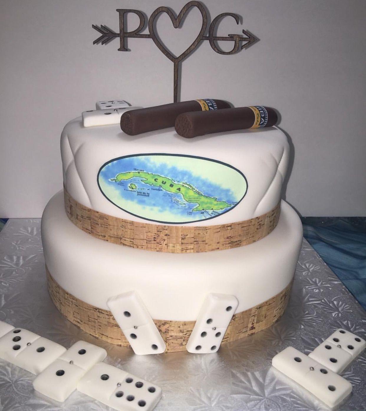 Cuban Cake Cuba Party Decor Ideas Diy White