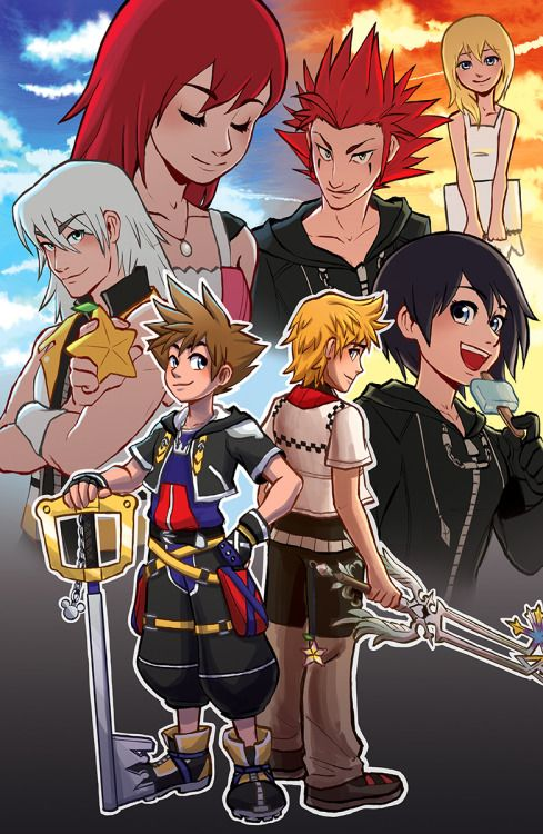 If a KH television series happened (one was being produced back in 2002-2003, but was scrapped), this is probably how the art style should look. It has a nice blend of anime and Western animation.