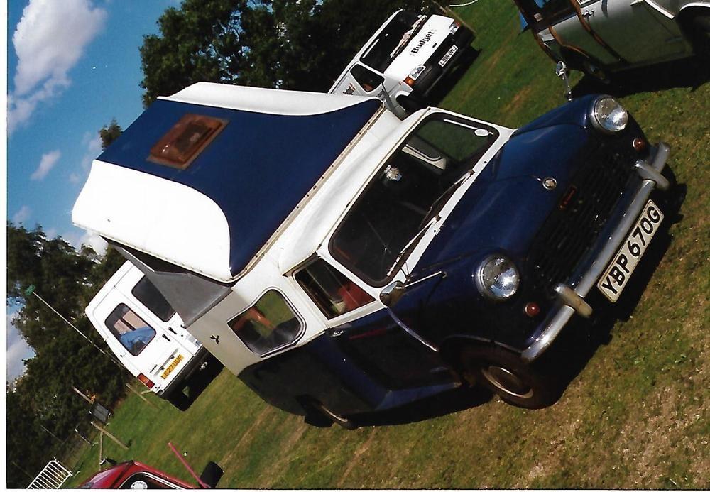 eBay Classic Austin Mini Wildgoose Camper Part Restored