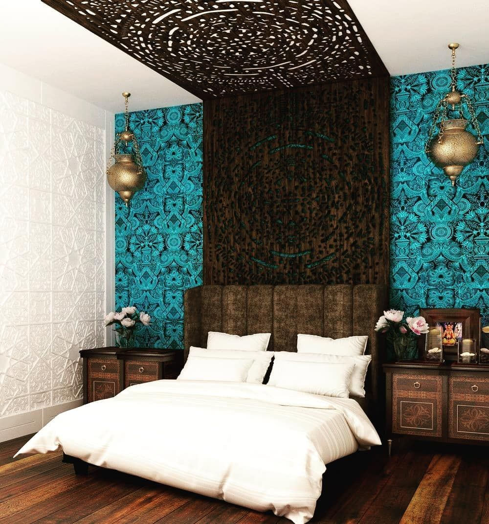 Pin by Ninti on CHAMBRE PARENTALE (With images)  Indian style