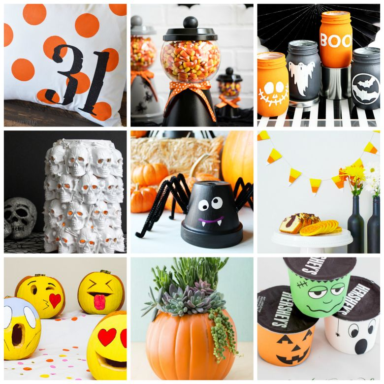 30+ Easy to Make Halloween Decorations - halloween decorations for kids to make