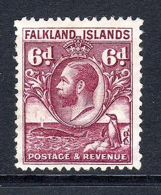 Falkland Islands 6d Stamp c1929-37 Mounted Mint - http://stamps.goshoppins.com/commonwealth-british-colonial-stamps/falkland-islands-6d-stamp-c1929-37-mounted-mint/