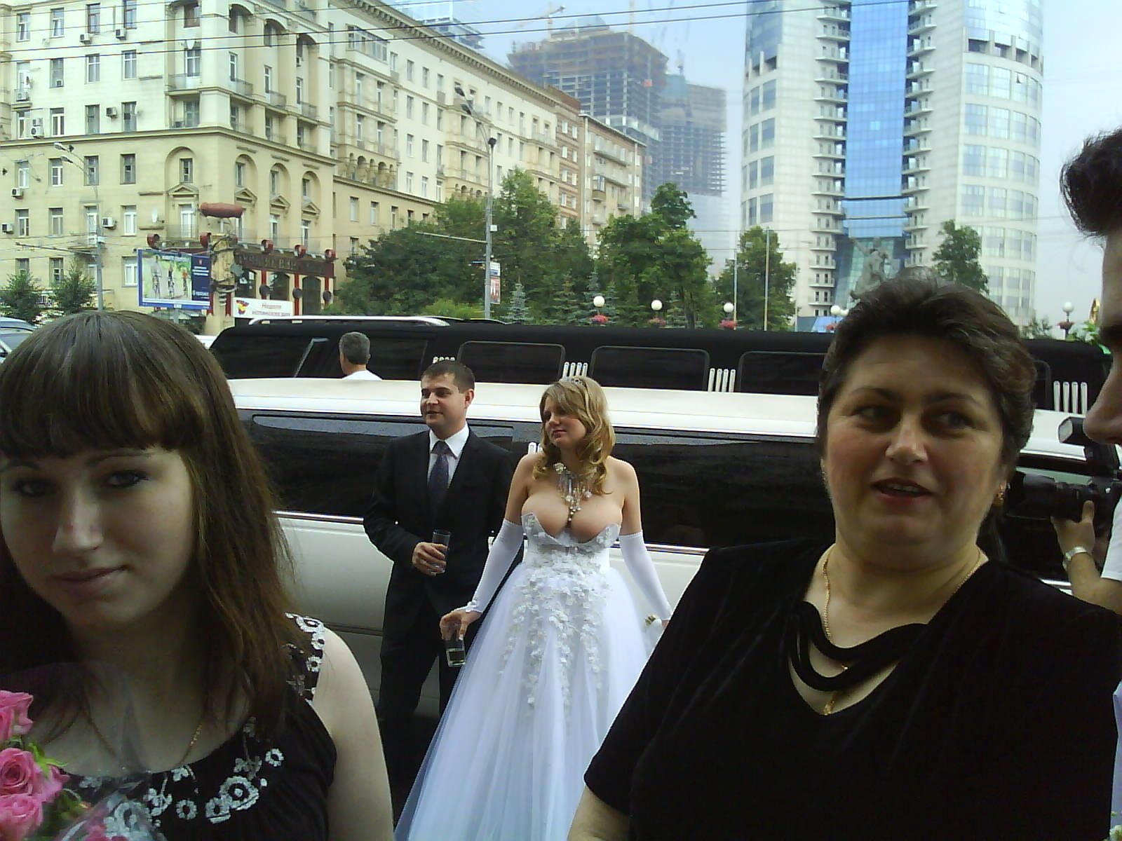 redneck wedding dresses   Two pics - the invitation, and then the ...