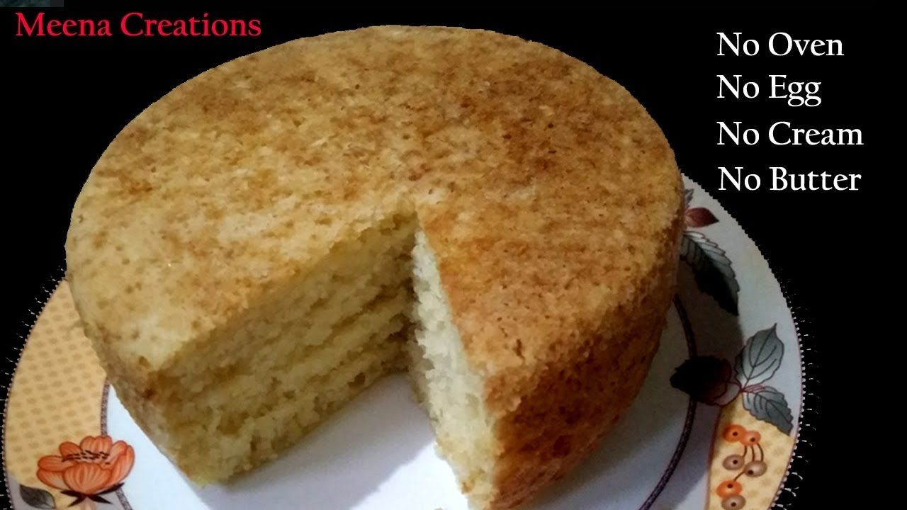 Eggless Rava Cake Recipe Cake Without Oven Cream Condensed Milk But In 2020 Eggless Cake Recipe Cake Recipes Without Oven Cake Recipes