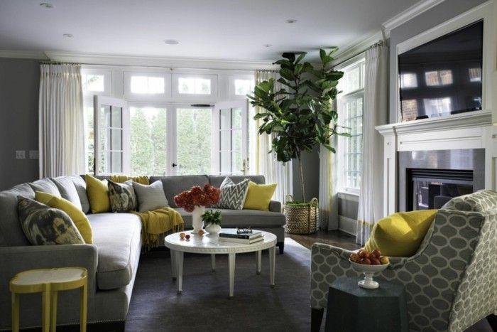 Wohnzimmer Kolonial ~ Grautöne farbideen wohnzimmer wohnzimmereinrichtung wohnzimmer