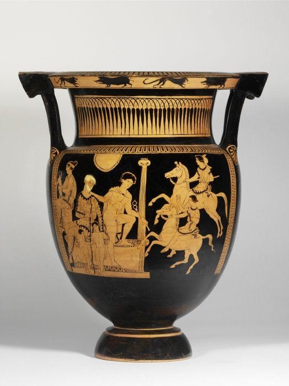 """Lukanischer Kolonnettenkrater"" 420 - 400 BC. © Foto: Antikensammlung der Staatlichen Museen zu Berlin - Preußischer Kulturbesitz"